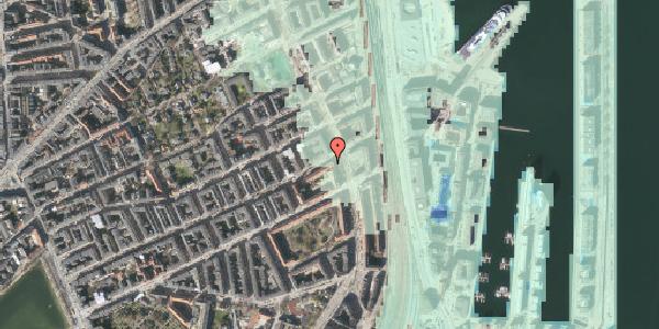 Stomflod og havvand på Willemoesgade 76, 1. tv, 2100 København Ø