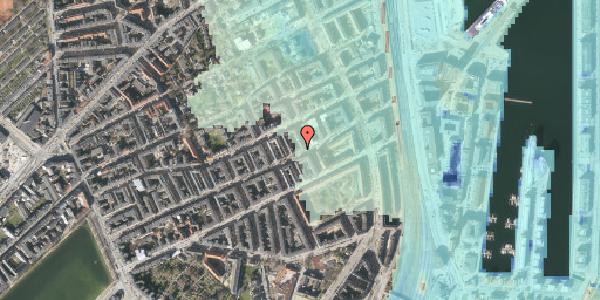 Stomflod og havvand på Willemoesgade 77, st. th, 2100 København Ø