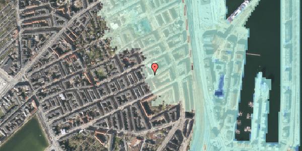 Stomflod og havvand på Willemoesgade 81, 1. tv, 2100 København Ø