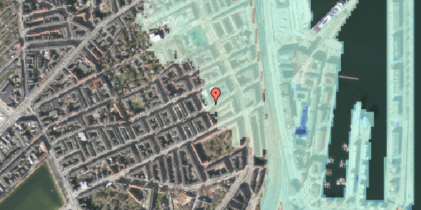 Stomflod og havvand på Willemoesgade 83, 3. tv, 2100 København Ø
