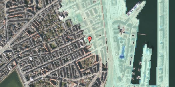 Stomflod og havvand på Willemoesgade 85, 1. tv, 2100 København Ø