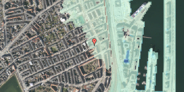 Stomflod og havvand på Willemoesgade 87, 1. tv, 2100 København Ø