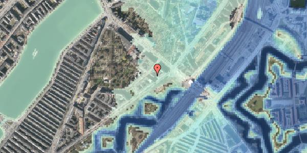 Stomflod og havvand på Visbygade 4, st. th, 2100 København Ø