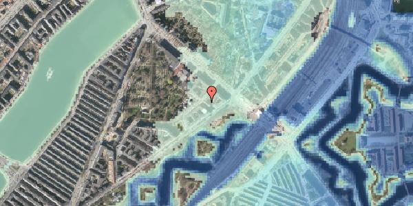 Stomflod og havvand på Visbygade 6, 1. tv, 2100 København Ø