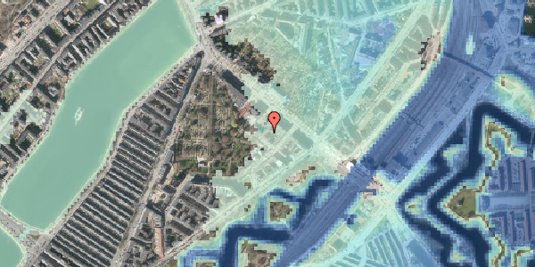 Stomflod og havvand på Visbygade 12A, st. tv, 2100 København Ø