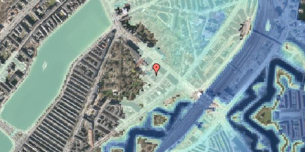 Stomflod og havvand på Visbygade 12A, 1. mf, 2100 København Ø