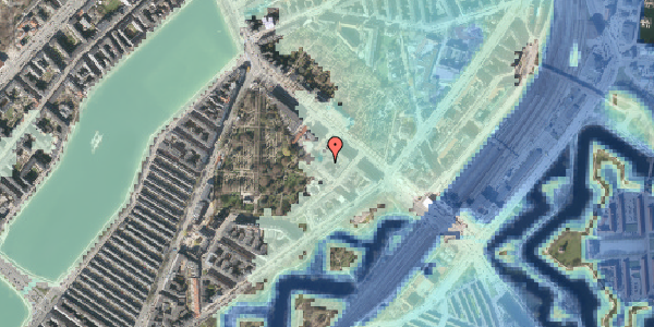 Stomflod og havvand på Visbygade 12A, 2. mf, 2100 København Ø