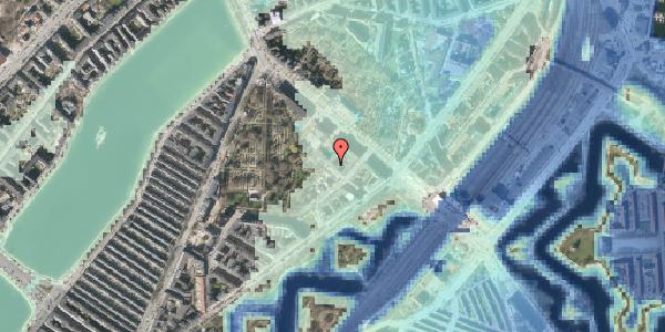 Stomflod og havvand på Visbygade 12, 1. tv, 2100 København Ø