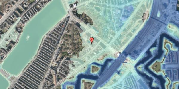 Stomflod og havvand på Visbygade 14, st. th, 2100 København Ø