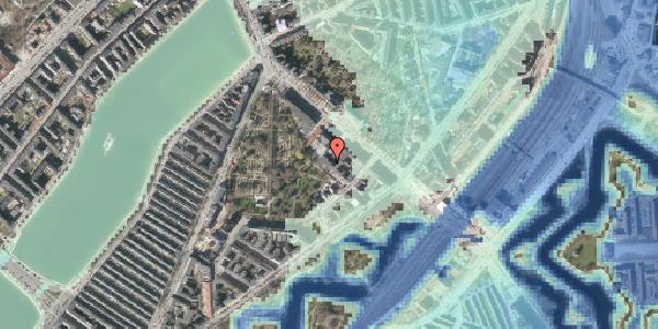 Stomflod og havvand på Visbygade 16, 1. , 2100 København Ø