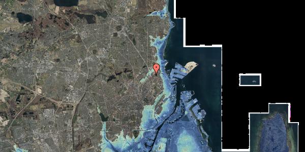 Stomflod og havvand på Vognmandsmarken 17, 3. tv, 2100 København Ø