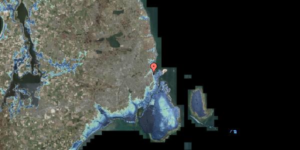 Stomflod og havvand på Vognmandsmarken 26, 3. tv, 2100 København Ø