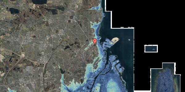 Stomflod og havvand på Vognmandsmarken 41, 4. th, 2100 København Ø