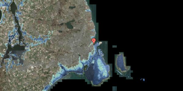 Stomflod og havvand på Vognmandsmarken 48, 1. tv, 2100 København Ø