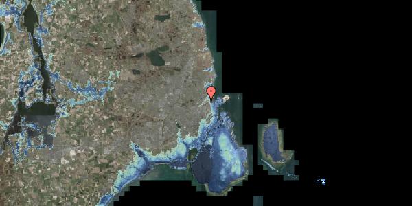 Stomflod og havvand på Vognmandsmarken 59, 3. th, 2100 København Ø