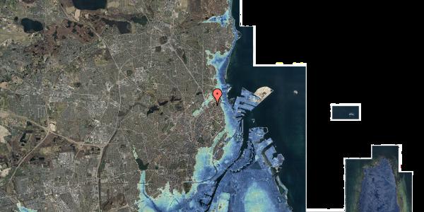 Stomflod og havvand på Vognmandsmarken 59, 3. tv, 2100 København Ø