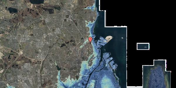 Stomflod og havvand på Vognmandsmarken 72, 3. th, 2100 København Ø
