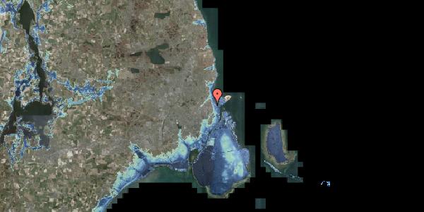 Stomflod og havvand på Vordingborggade 1, 3. , 2100 København Ø