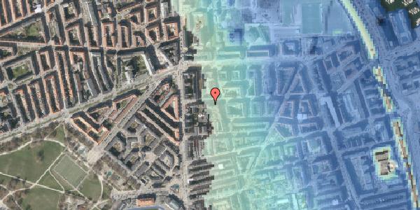 Stomflod og havvand på Vordingborggade 6F, 1. 13, 2100 København Ø