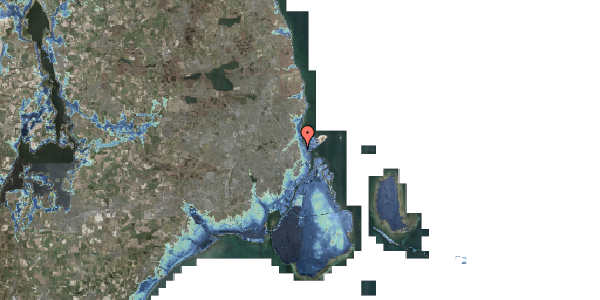 Stomflod og havvand på Vordingborggade 6G, 1. 11, 2100 København Ø
