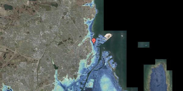 Stomflod og havvand på Vordingborggade 6G, 1. 13, 2100 København Ø