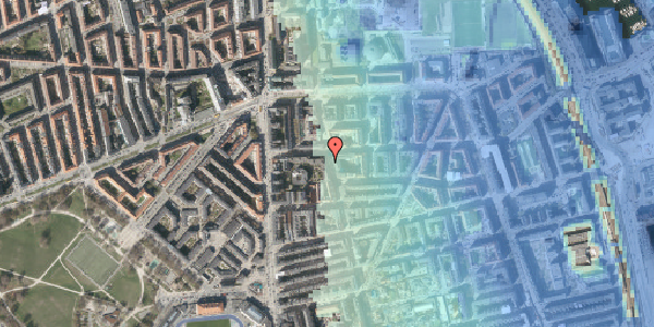Stomflod og havvand på Vordingborggade 6H, 5. 51, 2100 København Ø