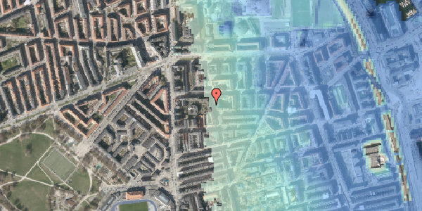 Stomflod og havvand på Vordingborggade 6J, 4. 43, 2100 København Ø