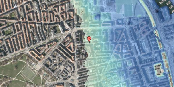Stomflod og havvand på Vordingborggade 9, 1. th, 2100 København Ø