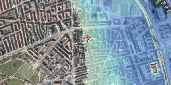 Stomflod og havvand på Vordingborggade 11, 1. th, 2100 København Ø