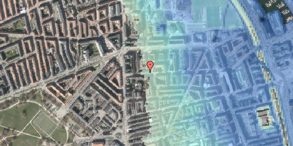Stomflod og havvand på Vordingborggade 11, 1. tv, 2100 København Ø