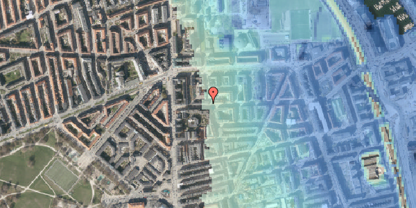 Stomflod og havvand på Vordingborggade 13, 2. th, 2100 København Ø