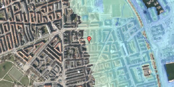 Stomflod og havvand på Vordingborggade 19, st. tv, 2100 København Ø