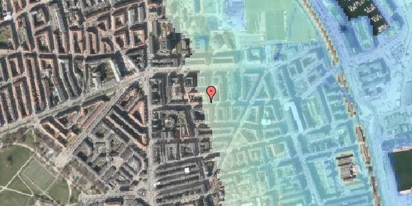 Stomflod og havvand på Vordingborggade 19, 3. tv, 2100 København Ø