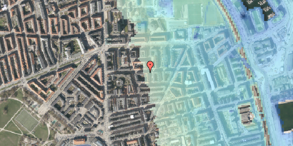 Stomflod og havvand på Vordingborggade 24, 4. th, 2100 København Ø