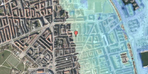 Stomflod og havvand på Vordingborggade 24, 4. tv, 2100 København Ø