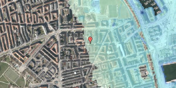 Stomflod og havvand på Vordingborggade 25, 4. tv, 2100 København Ø