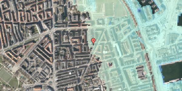 Stomflod og havvand på Vordingborggade 32, kl. , 2100 København Ø