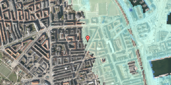 Stomflod og havvand på Vordingborggade 32, 2. tv, 2100 København Ø