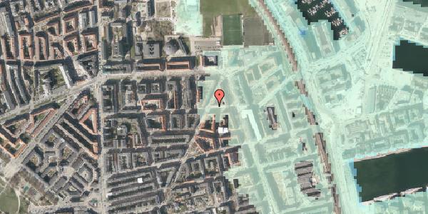 Stomflod og havvand på Vordingborggade 35, 1. tv, 2100 København Ø