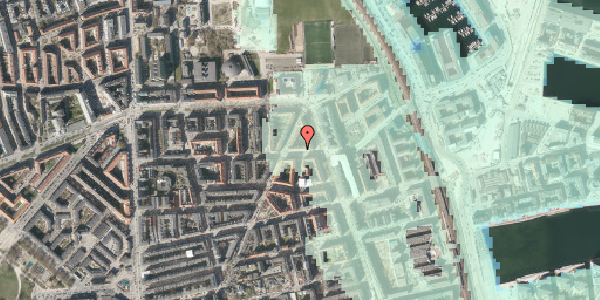 Stomflod og havvand på Vordingborggade 37, 3. th, 2100 København Ø