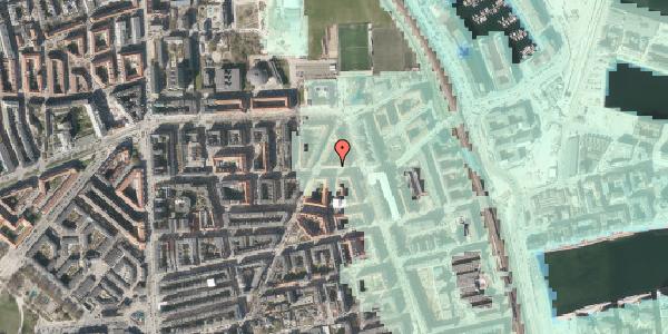 Stomflod og havvand på Vordingborggade 37, 3. tv, 2100 København Ø
