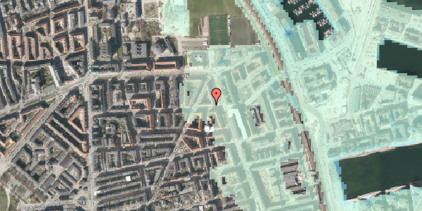 Stomflod og havvand på Vordingborggade 39, 3. tv, 2100 København Ø