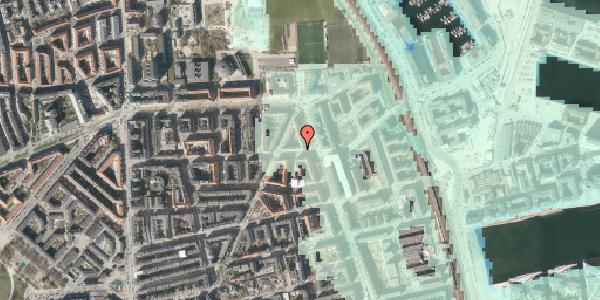 Stomflod og havvand på Vordingborggade 39, 4. tv, 2100 København Ø