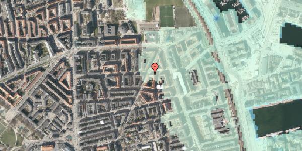Stomflod og havvand på Vordingborggade 74, kl. , 2100 København Ø