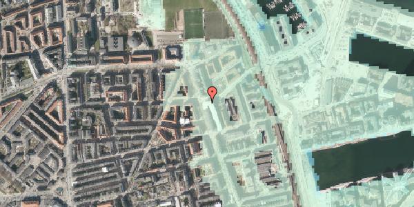 Stomflod og havvand på Vordingborggade 80, 2. tv, 2100 København Ø