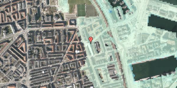 Stomflod og havvand på Vordingborggade 82, 1. th, 2100 København Ø