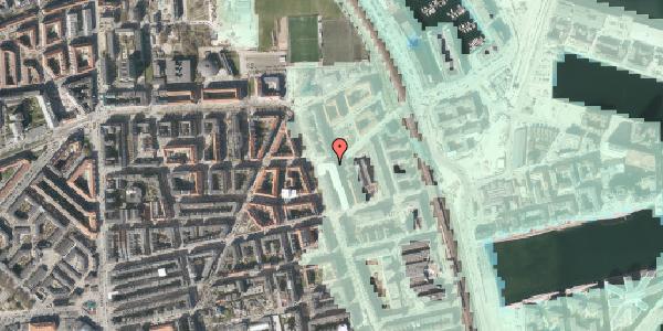 Stomflod og havvand på Vordingborggade 82, 3. tv, 2100 København Ø