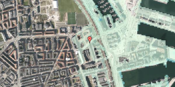 Stomflod og havvand på Vordingborggade 89, 3. tv, 2100 København Ø