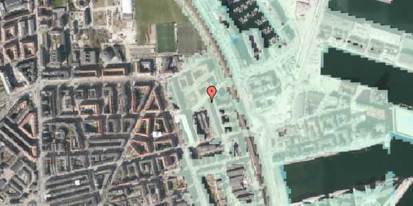 Stomflod og havvand på Vordingborggade 90, 2. tv, 2100 København Ø