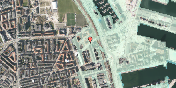 Stomflod og havvand på Vordingborggade 91, 5. tv, 2100 København Ø